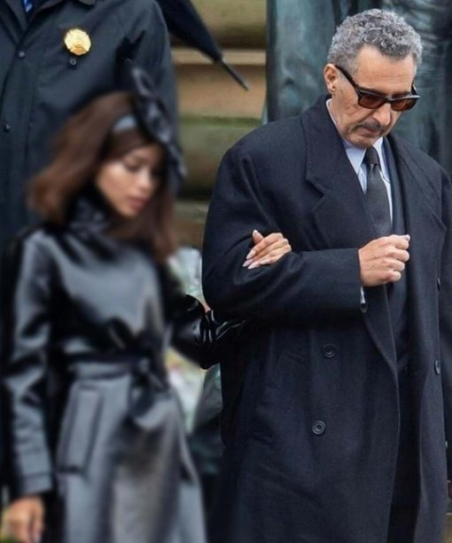 John Turturro The Batman 2022 Trench Coat