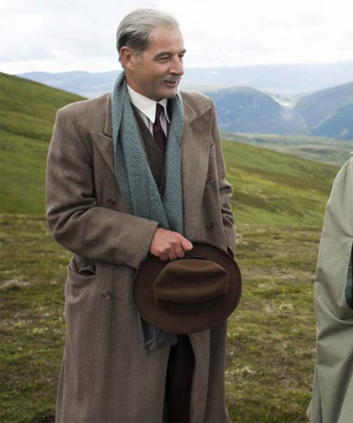 The Crown Jeremy Northam Trench Coat