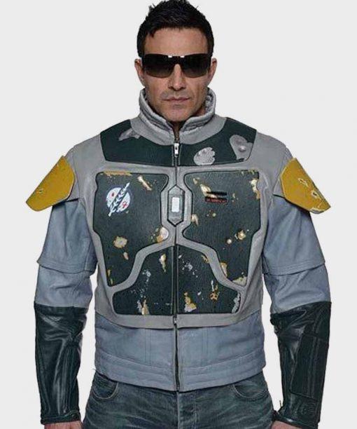 Star Wars The Mandalorian S02 Boba Fett Leather Jacket