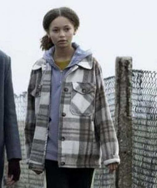 The Third Day Charlotte Gairdner-Mihell Checked Jacket