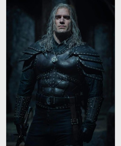 The Witcher S02 Henry Cavill Leather Vest