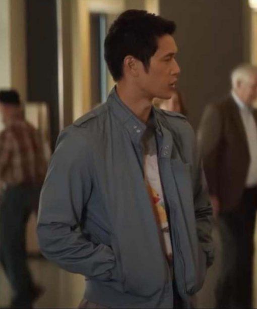 All My Life Harry Shum Jr. Grey Cotton Jacket