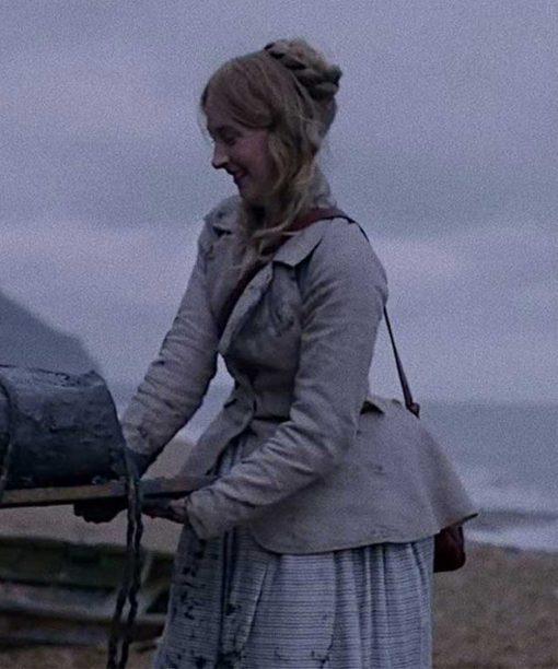 Ammonite (2020) Saoirse Ronan Grey Jacket