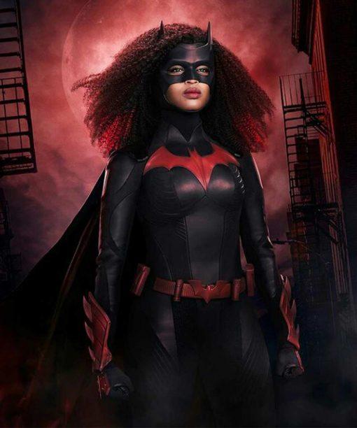 Batwoman S02 Javicia Leslie Black Leather Jacket