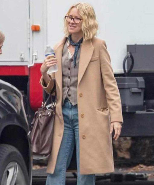 Naomi Watts Boss Level Trench Coat