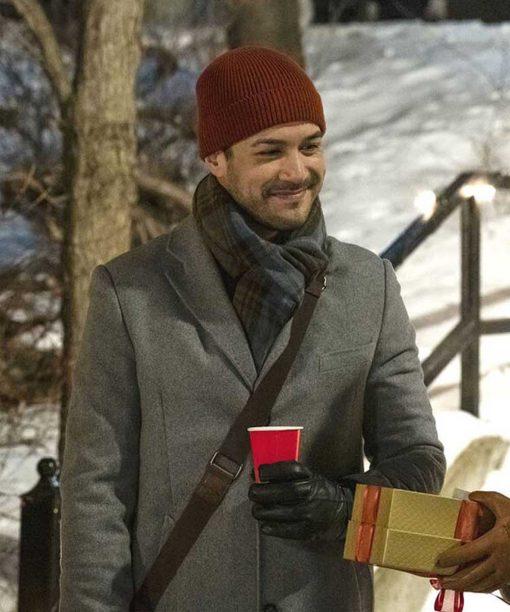 Christmas Unwrapped Erik Gallagher Grey Coat