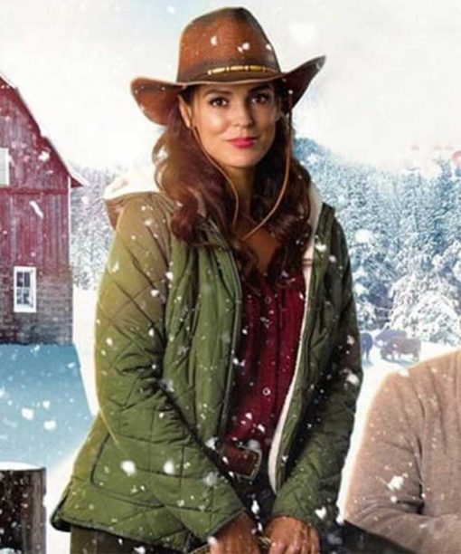 Erin Cahill Christmas on the Range Hooded Jacket