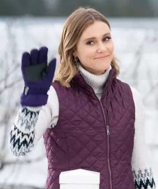 Julianna Guill Christmas on the Vine Quilted Vest