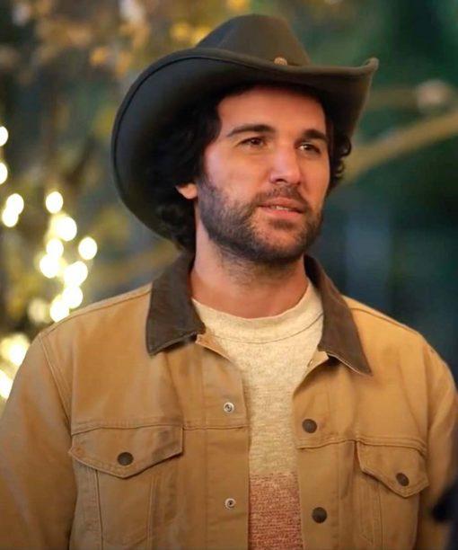 Dashing in December Juan Pablo Di Pace Brown Jacket