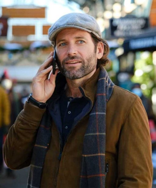 Deliver by Christmas Eion Bailey Suede Jacket