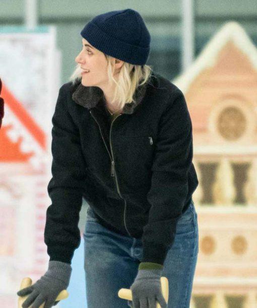 Abby Happiest Season Black Jacket