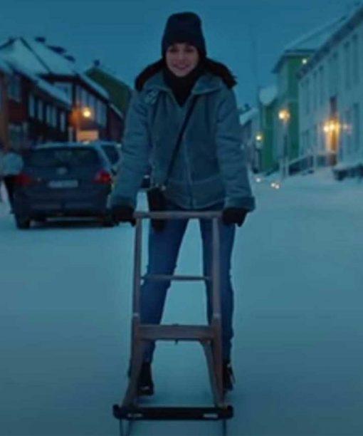 Ida Elise Broch Home for Christmas S02 Hooded Jacket
