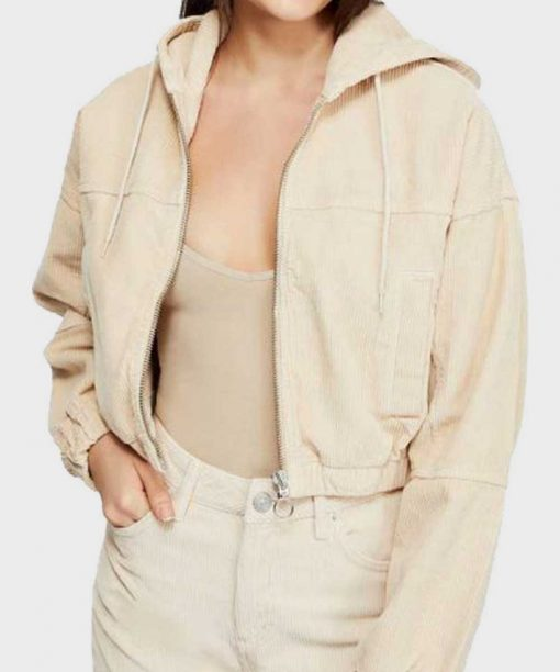 Julie And The Phantoms Madison Reyes Crop Hooded Jacket