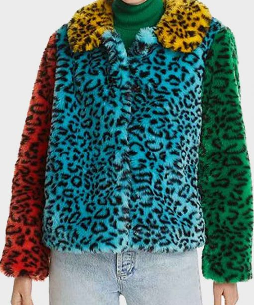 Julie and the Phantoms Jadah Marie Leopard Jacket