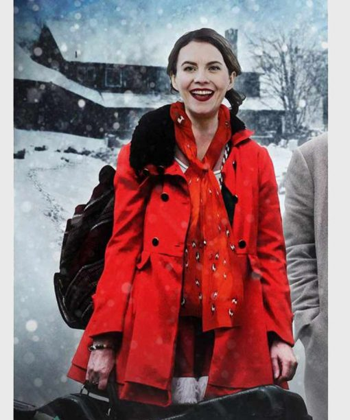 Lost at Christmas Natalie Clark Red Coat