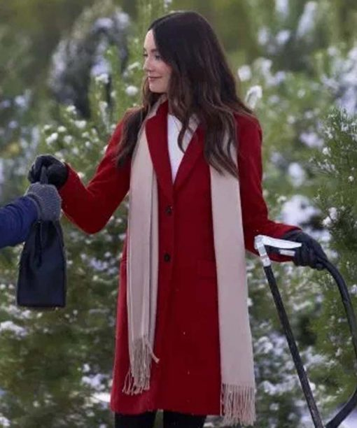On The 12th Date of Christmas Jennifer Red Coat