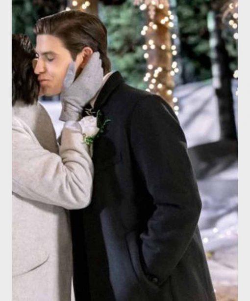 Meet Me at Christmas Mark Deklin Black Coat