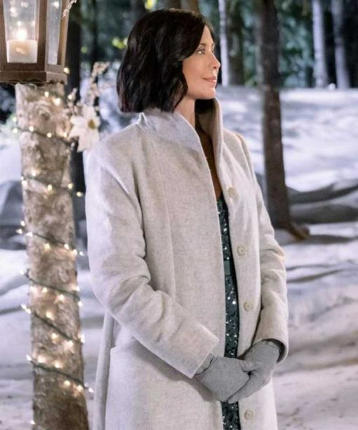 Meet Me at Christmas Catherine Bell Wool-Blend Coat