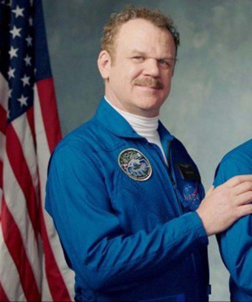 Moonbase 8 John C. Reilly Blue NASA Jacket