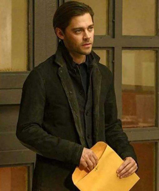 Tom Payne Prodigal Son Black Jacket