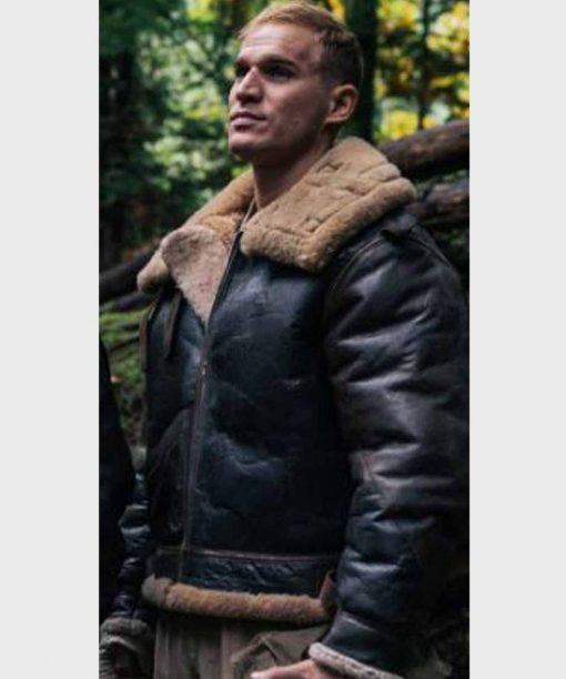 Project Blue Book S02 Willem Van Der Vegt Sheepskin Shearling Jacket