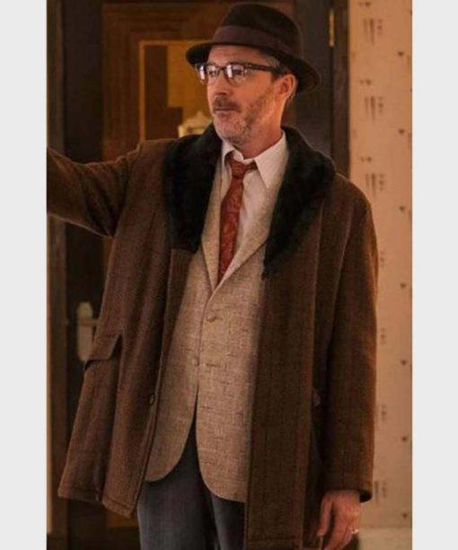 Project Blue Book S02 Aidan Gillen Brown Coat