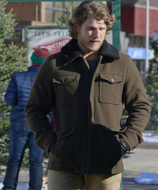 Travis Van Winkle Project Christmas Wish Brown Jacket