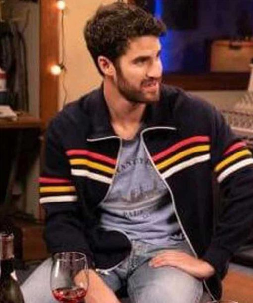 Darren Criss Royalties Black Stripe Jacket