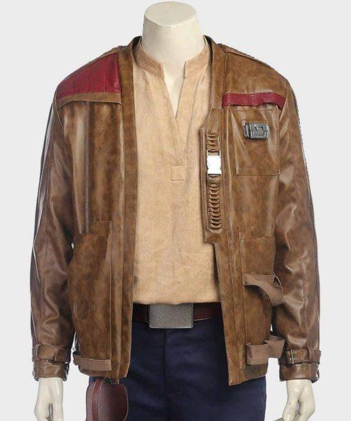 Star Wars The Force Awaken Finn Leather Jacket