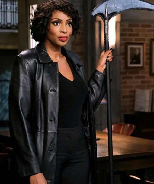 Supernatural Season 15 Lisa Berry Trench Coat