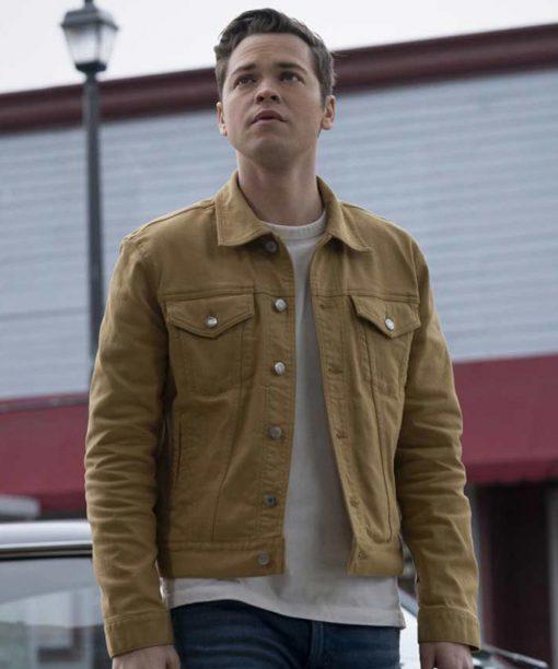 Supernatural Season 15 Alexander Calvert Yellow Jacket