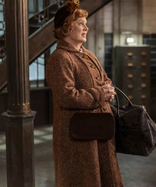 Supernatural S15 Meagen Fay Tweed Long Coat