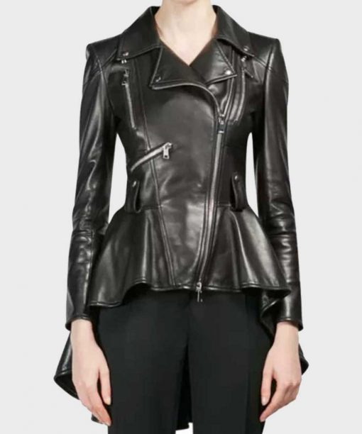The 100 S07 Clarke Griffin Leather Jacket