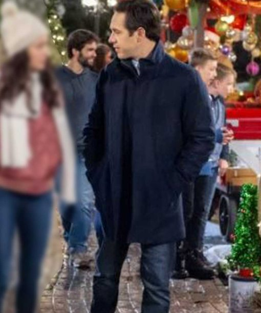Michael Rady The Christmas Bow Blue Coat