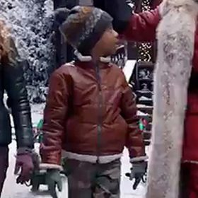 The Christmas Chronicles 2 Jack Brown Jacket