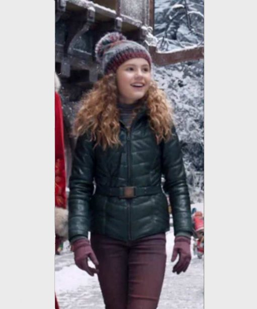 The Christmas Chronicles 2 Darby Camp Green Jacket