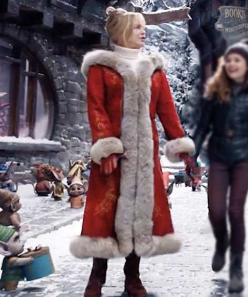 The Christmas Chronicles 2 Goldie Hawn Red Hooded Coat