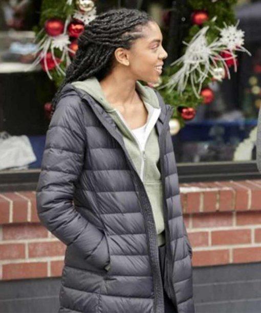 The Christmas Doctor Rhinnan Payne Puffer Jacket