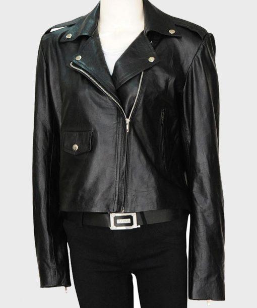 Krysten Ritter The Defenders Motorcycle Leather Jacket