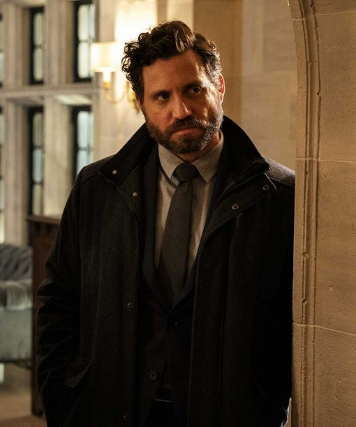 The Undoing Edgar Ramírez Black Coat