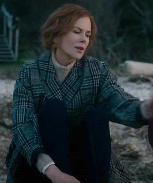 The Undoing Nicole Kidman Plaid Coat