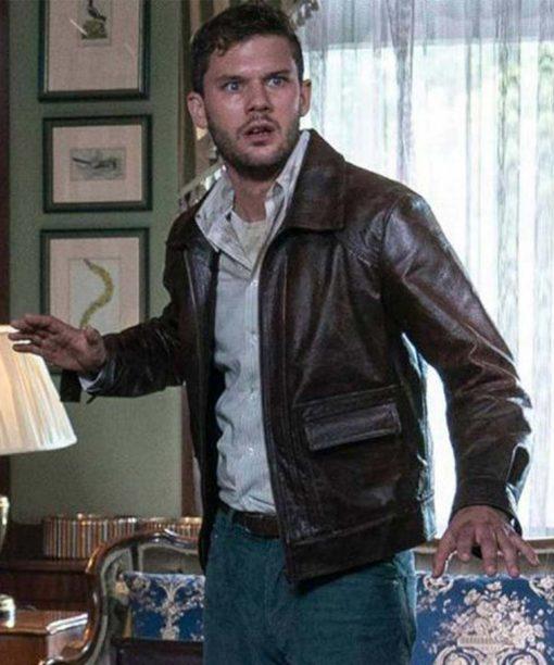 Treadstone Jeremy Irvine Brown Leather Jacket
