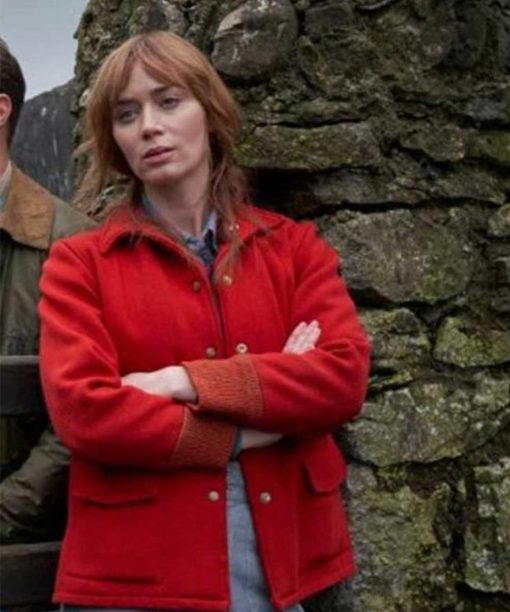 Wild Mountain Thyme Emily Blunt Red Jacket