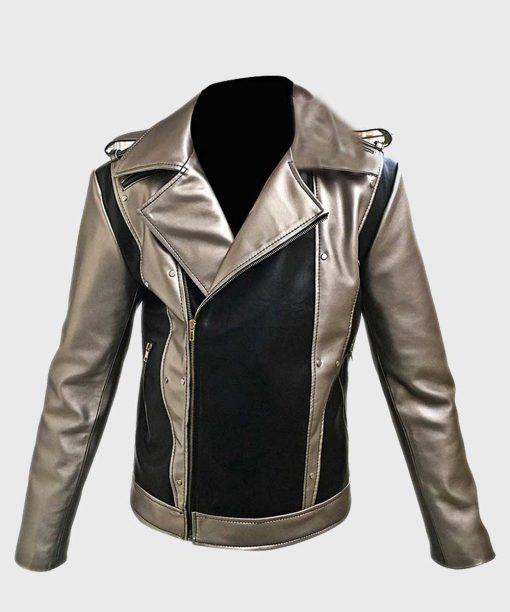X-Men Apocalypse Evan Peters Leather Jacket