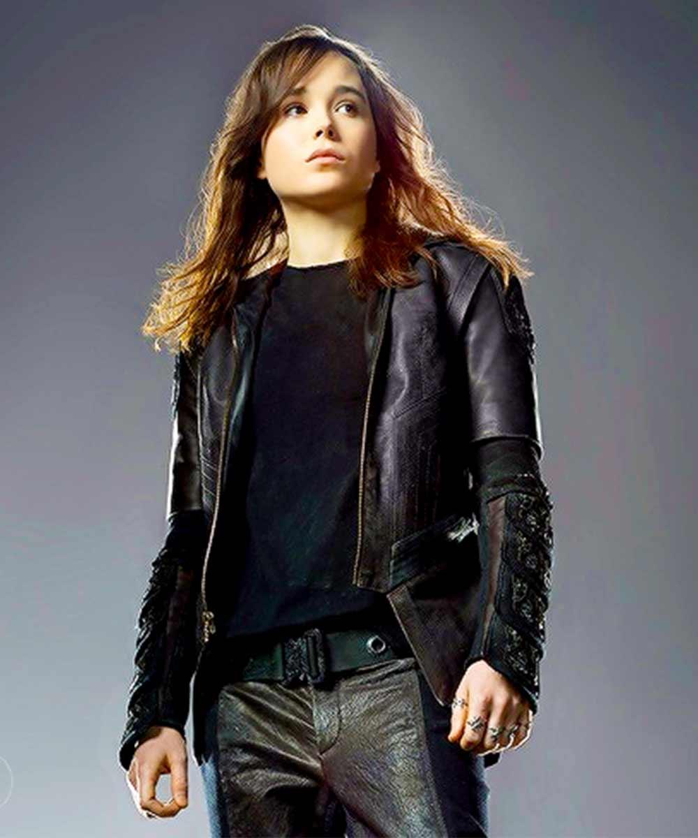 X Men Days Of Future Past Kitty Pryde Jacket Ellen Page Black Jacket