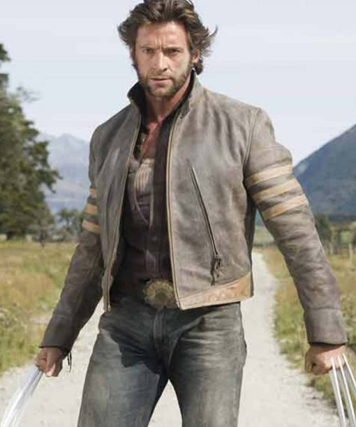 X-Men Origins Wolverine Hugh Jackman Leather Jacket