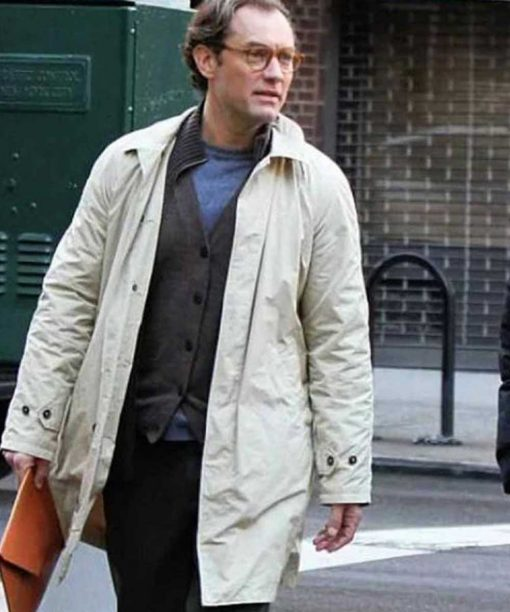 Jude Law A Rainy Day In New York Cotton Coat