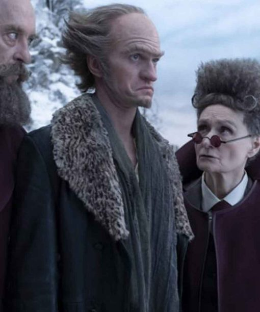 A Series of Unfortunate Events S03 Neil Patrick Harris Leather Coat