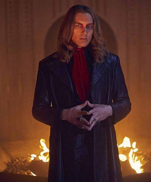 American Horror Story S09 Cody Fern Leather Coat