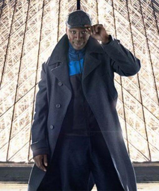 Arsene Lupin Omar Sy Trench Coat